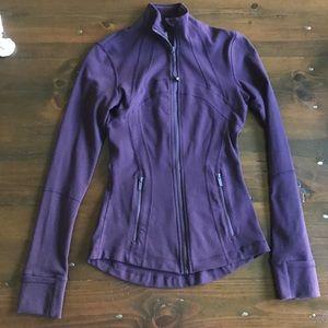 Lulu lemon define jacket in rare purple! Size 2!